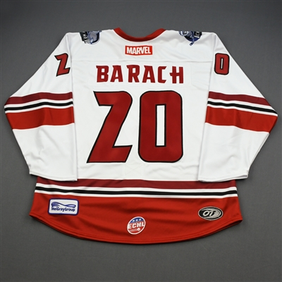 Derek Barach Ant-Man - 2019-20 MARVEL Super Hero Night - Game-Issued Jersey