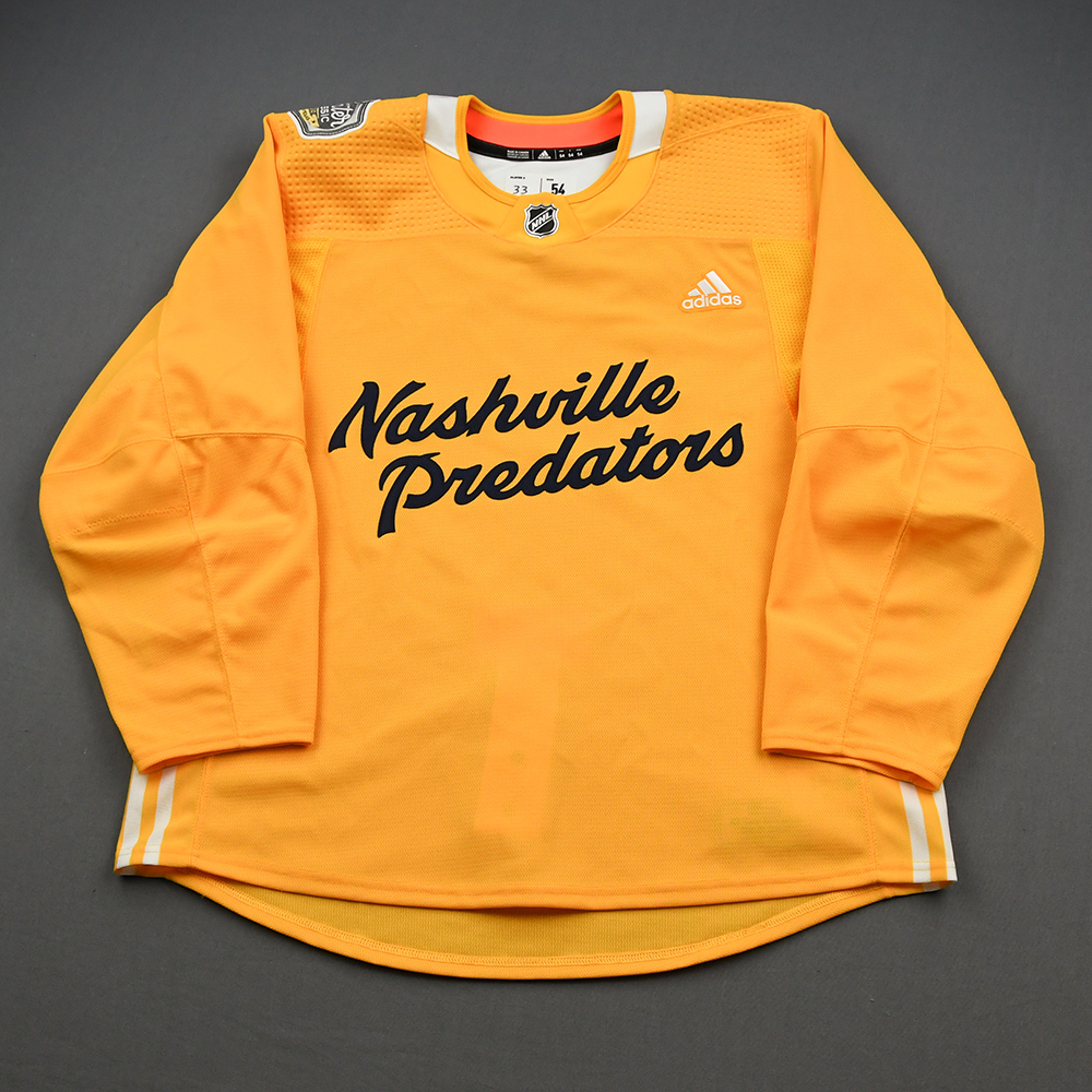 2020 NHL Winter Classic Nashville Predators Practice Jersey Auction Ends Thursday, January 30, 2020