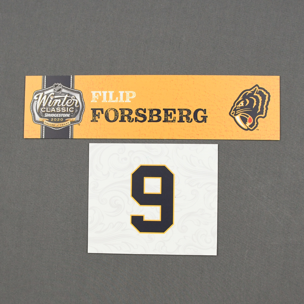 2020 NHL Winter Classic Nashville Predators Game-Used Name and Number Plate Auction Ends Wednesday, February 12, 2020